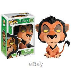 Funko Pop! Figurine En Vinyle Disney Scar (le Roi Lion) Neuve Dans Sa Boîte