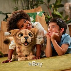 Furreal Disney Le Roi Lion Roar Puissant Simba Animé En Peluche Pour Enfants Enfants