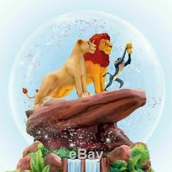 Globe Glitter Musical Rotatif Disney Lion King Nouveau
