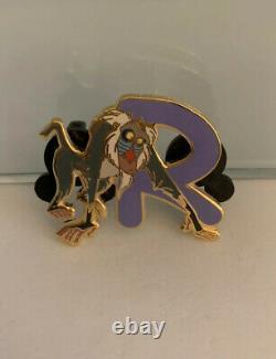 Japon Disney Mall Rafiki Lion Roi Personnage Alphabet Épingle Le 100 De L'ensemble De Cadre