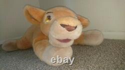 Jumbo 26 Kiara Disney Plush Cuddly Toy, Lion Roi II Simba's Pride