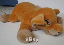 Kiara Roi Lion Rare Walt Disney Company Jumbo Grande 30 Peluche Animal En Peluche