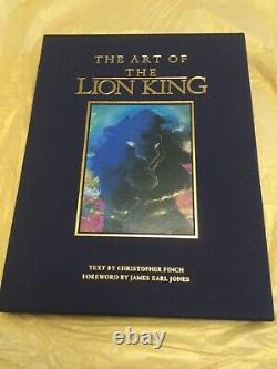 L'art De L'édition Lion King Limited 3500 Exemplaires (signé) Disney Nouveau + Sericel