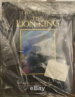 L'art Du Roi Lion Limited Edition! 3500 Exemplaires (signé) Disney Nouveau