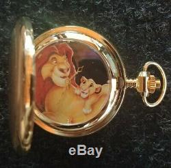 La Montre De Poche En Bois Lion King Limited Edition Cas Disney 528 Sur 5000