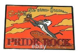 Le 100 Rare Lion King Disney Enchères Pin Carte Postale Profitez De Pride Rock Baby Simba