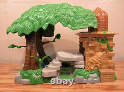 Le Lion King Pride Rock Playset 1994 + Jungle Book 2 + 25 Figures Mattel Disney