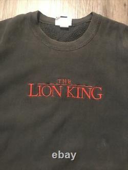 Le Lion King Promo Sweater Hommes Sz XL Vintage Disney Pullover Sweater Film