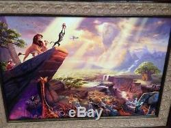 Le Roi Lion De Disney Thomas Kinkade 81 Sur 313 Giclées