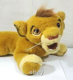 Le Roi Lion Douglas Jouets En Peluche Jeune Simba En Peluche Grand Plus De 2 Pieds