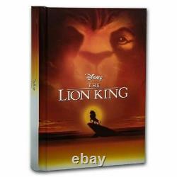Le Roi Lion Ensemble De 4 Pièces One Oz, Lion King Display Bos 4 Oz. 999 Argent Auth