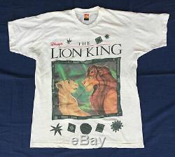 Le Roi Lion Promo T-shirt 90s Vintage Simba Nala Disney Jerry Leigh XL Osfa