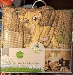 Le Roi Lion Simba Wild Adventure 7 Piece Nursery Literie De Bébé Bru Exclusive