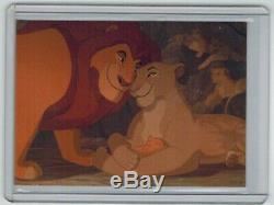 Le Roi Lion Super Bowl Promo Promotionnelle Carte Sb1 Skybox Disney