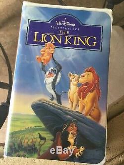 Le Roi Lion Vhs 1995 Masterpiece Walt Disney Bande Vidéo