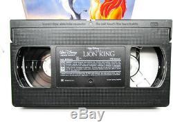 Le Roi Lion Vhs Walt Disney # 2977 Masterpiece Collection 1995 Teste
