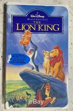 Le Roi Lion (vhs, 1994) Rare Version Walt Disney Publicitaire Home Video