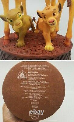 Limited Disney Legacy Collection Lion King 25ème Anniversaire Giraffes Statue