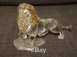 Limited Edition Cristal Swarovski Disney Le Roi Lion Mufasa Figurine Poo