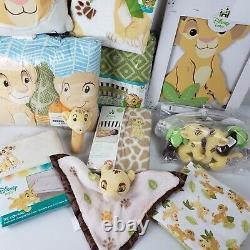 Lion Roi Jungle Fun 16 Pc. Ensemble De Literie Pour Bébé Par Disney Baby