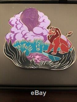 Lot De Pins Du Parc Disney 130292/130293 Roi Lion Jumbo Le 500