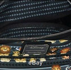 Loungefly Disney Le Roi Lion Mini Sac À Dos Imprimé Tribal Simba Et Nala Nwot
