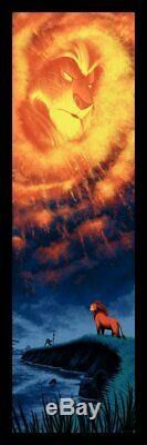 Mark Englert Lion King Ap Affiche De Film Disney Embouteillage Mondo Cyclops Whalen