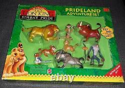 Mattel Disney's The Lion King Simba's Pride Prideland 8 Pc Adventure Set 69468