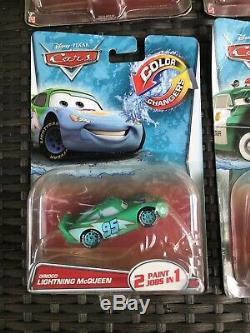Mcqueen Dinoco Mater Sheriff Cartrip Bernoulli Set 6