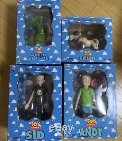 Medicom Toy VCD Andy Sid Scud Hommes De L'armée Verte Toy Story Vinyle Disney Pixar Japon