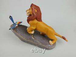 Mufasa & Zazu Figurine Du Magasin Lion King Disney Porcelaine