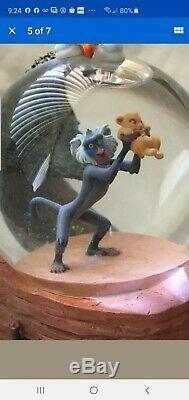 Nib Disney Le Roi Lion Simba Pride Rock Cercle De La Vie Musicale Snowglobe
