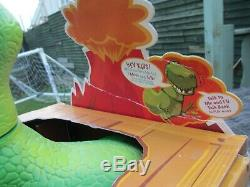 Nib Talking Thinkway Collection D'histoires De Jouets Disney Figurine Dinosaure Rex Roarr'n