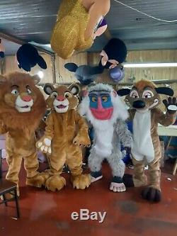 Nouveau Costume De Mascotte Lion King Disney -simba
