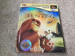 Nouveau Disney 3 Signature Editions Le Roi Lion, Bambi, Pinocchio Target Exclusive