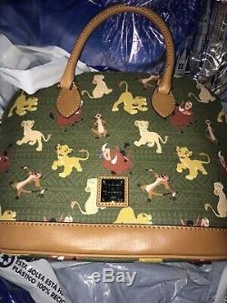 Nouveau Dooney & Bourke Disney Le Roi Lion Stachel Bourse De Sac Simba Centré