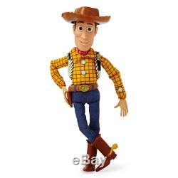Nouvelle Figurine Parlante Woody 16 De Disney Pixar Toy Story 4 Du Disney Store