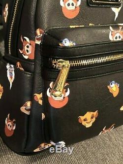 Nwot Disney Parks Loungefly Roi Lion Sac À Dos Simba Difficiles À Trouver