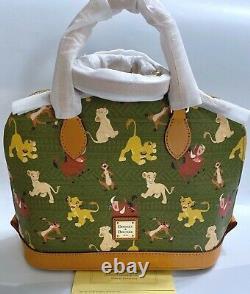 Nwt Disney Parks Dooney & Bourke The Lion King Satchel Bag Simbanalapumba