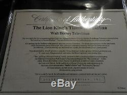 Original Disneys Roi Lion Timon Animation Production Cel Sketch