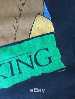 Original Vintage Disney Le Roi Lion T-shirt 1994 90 Graphic Tee Rap Hip Hop