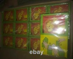 Panini Wholesale Disney (lion King) 1994 12 X Boîtes Scellées Chacune 100 Paquet Rare