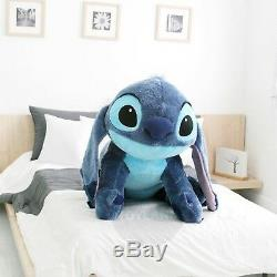 Personnage De Disney Couché Stitch Coussin Jumbo, Poupée Géante De 120 CM (47,2 Pouces)