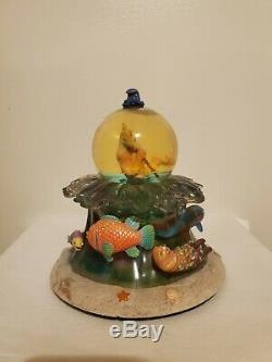 Petite Sirène Roi Triton Snow Globe De Disney