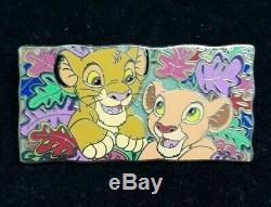 Pin Pins Disney Fantasy Le Roi Lion Simba Et Nala Le25 Htf