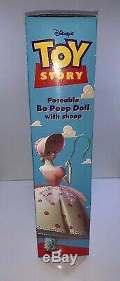 Poupée Bo Peep Poseable Avec Moutons De Disney Histoire # 62892 Nos Nouveau Original