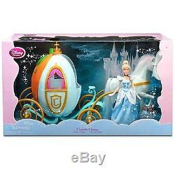 Princesse Disney Cendrillon 12 Poupées Et Big 16 Calèche Citrouille 12 Chevaux Nouveau