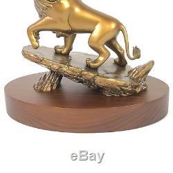 Prix disney Cast Member Service Award 20 Ans De Figurine Simba Lion King En Bronze