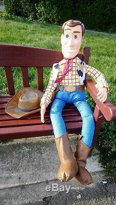 Rare 1995 De Promotion De Toy Story Woody Frito Lay De Thinkways De 4 Pieds (seulement 100 Exemplaires)