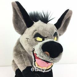 Rare Disney Le Roi Lion Banzai Hyène En Peluche 14 Pouces Avec Tag Collectables Nouveau
